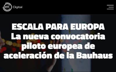Convocatoria Scale Up para empresas europeas