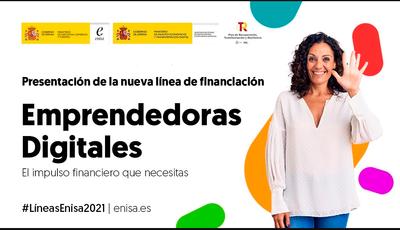 ENISA lanza una nueva línea de financiación que impulsa el emprendimiento digital femenino con hasta 51 millones de euros