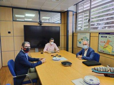 CEEI Castellón y PortCastelló avanzan en su proyecto de 'hub' de innovación especializado en el sector logístico