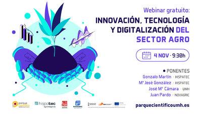 Innovación, tecnología y digitalización del sector Agro
