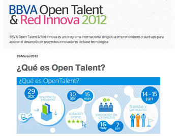 bbva Open talent y Red Innova