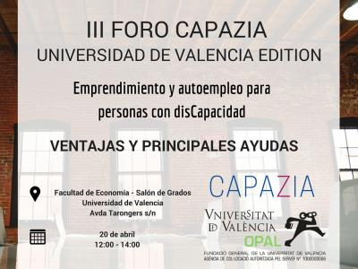 III Foro Capazia - UV Edition