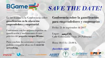 Conferencia Final del Proyecto Europeo BGame