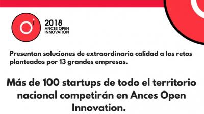 Más de 100 startups de todo el territorio nacional competirán en Ances Open Innovation
