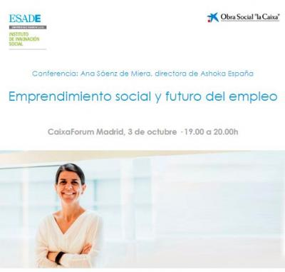 Emprendimiento social y futuro del empleo