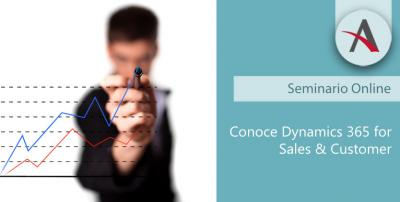 Webinar: Conoce Dynamics 365 for Sales & Customer