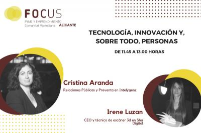 Cristina Aranda hablará en Focus Pyme Alicante del valor de la tecnología en las personas