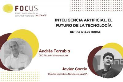 Andrés Torrubia mostrará el potencial de la Inteligencia artificial en Focus Pyme Alicante