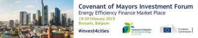 Covenant of Mayors Investment Forum - Energy Efficiency Finance Market