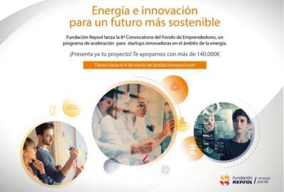 Programa de aceleración para startups en energía Fundación Repsol