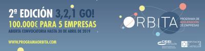 2ª Convocatoria: Programa de aceleración de empresas Órbita