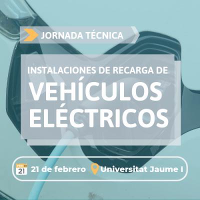 Jornada instalaciones de recarga de vehículos eléctricos