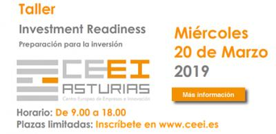 Taller Investment Readiness