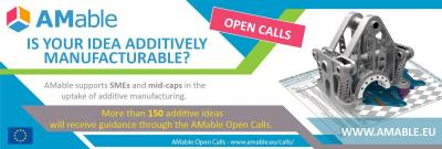 2nd Call for AMable in Additive Manufacturing