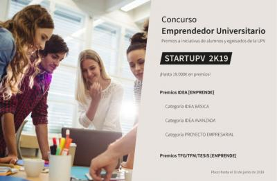 Concurso startup Ideas UPV