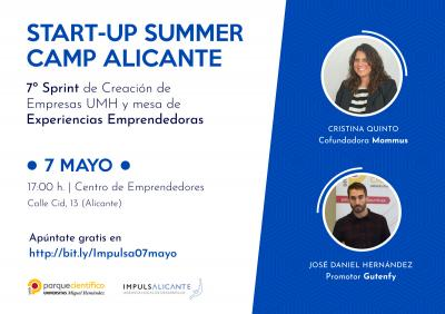 Start-up Summer Camp Alicante: 7º edición del Sprint de Creación de Empresas UMH