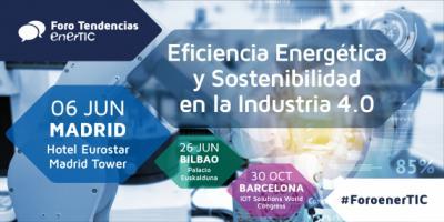 Foro Eficiencia Energética y Sostenibilidad en la Industria 4.0 | Madrid