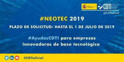 Ayudas NEOTEC 2019