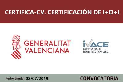 Subvenciones Certifica-CV
