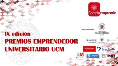 IX Premios Emprendedor Universitario UCM