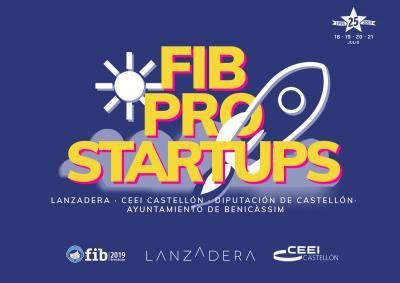 1º edición FIB Pro Startups, Startup Competition