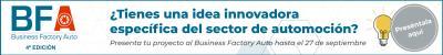 4ª Edición BFA, Programa aceleración para la industria de automoción