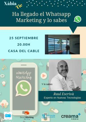¡¡Ha llegado el Whatsapp Marketing y lo sabes!!