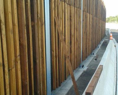 Pantallas acústicas de madera | Panneau en bois
