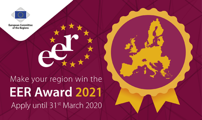 European Entrepreneurial Region (EER) Award 2021