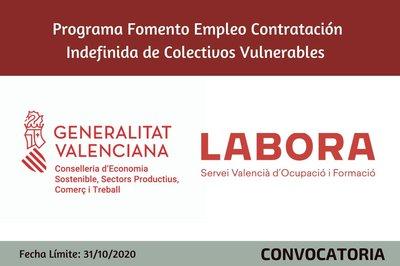 Programa Fomento de Empleo contratación en prácticas de colectivos vulnerables