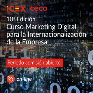 Curso de Marketing Digital para la Internacionalización de la Empresa .