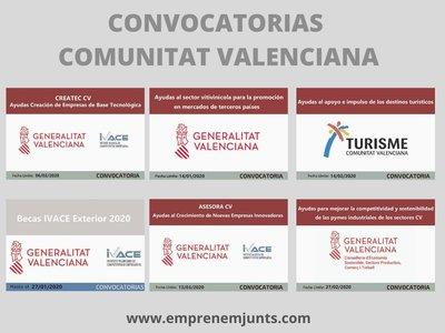 Convocatorias Comunitat Valenciana