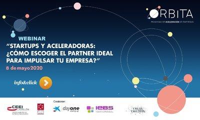 """Jornada: """"Startups y Aceleradoras: ¿Cómo escoger el partner ideal para impulsar tu empresa?"""""""