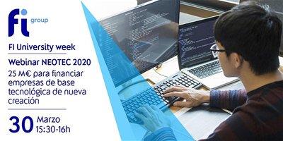 Webinar ayudas NEOTEC 2020