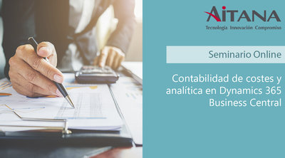 Contabilidad de costes y analítica con Dynamics 365 Business Central