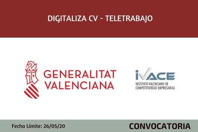 Digitaliza CV - Teletrabajo