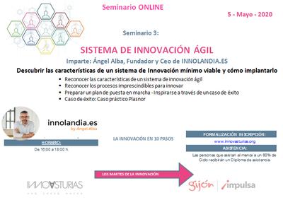 Seminario: Sistemas de innovación ágil