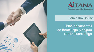 Firma documentos de forma legal y segura con Docuten eSign