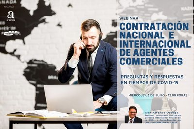 Contratación nacional e internacional de agentes comerciales.Preguntas y respuestas en tiempos de Covid-19