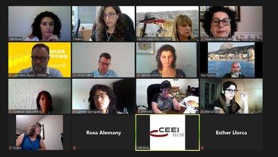 Los miembros de Creama mantuvieron la pasada semana una reunión telemática con CEEI Elche y el resto de agentes de la comarca