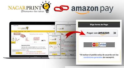 nacarprint y amazon pay  ¡Ahora ya puedes pagar con tu cuenta de amazon¡