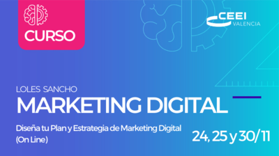 Curso: Diseña tu Plan y Estrategia de Marketing Digital (On Line)
