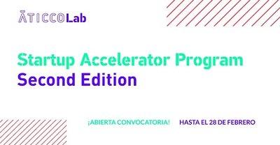 AticcoLab  2ª edición Startup Accelerator Program