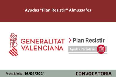"Ayudas ""Plan Resistir"" Almussafes"