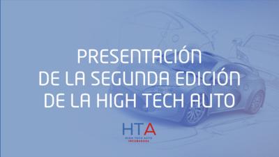 2ª Convocatoria Incubadora High Tech Auto