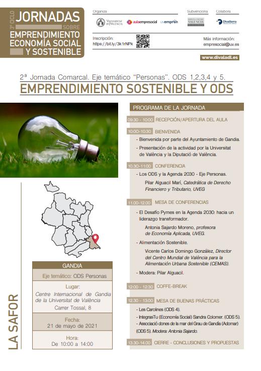 Emprendimiento Sostenible y ODS- Gandía (La Safor)