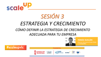 SCALE UP 2021 - SESION 3