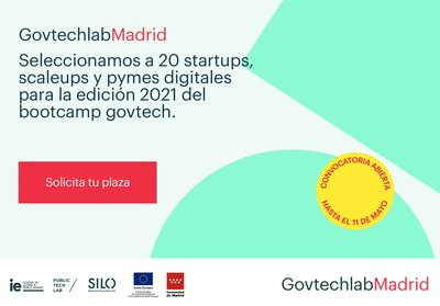 Convocatoria '2ª edición Bootcamp Govtechlab Madrid'