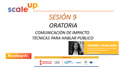 SCALE UP 2021 - SESION 9