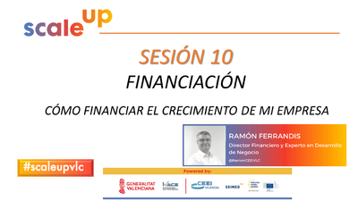 SCALE UP 2021 - SESION 10